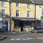 Cheese shop in the Cotswolds