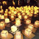 10th annual Hawaii Lantern Festival at Ala Moana Beach.