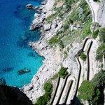 Capri Via Krupp (foto di Matteo Cannito)