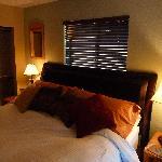 Our bedroom - 'Cowboy Hideway Suite'