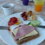 Breakfast in hotel Azurro