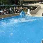 one of the waterslides