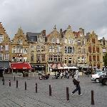The bars in Ypres main square