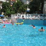 Water polo - everyday at around 2, if enough guests are keen to join in.