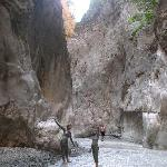 Saklikent gorge - kid's found better mud baths than in Dalyan!