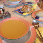 Spicy Parsnip Soup - yum!