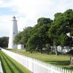 Ocracoke Lighthouse ภาพถ่าย