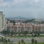 View out over Qingxi Town