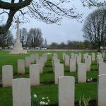 British Cemetery.  Bayeux.