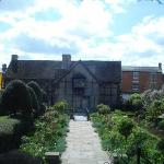 William Shakespeare was born and grew up in this house.  Stratford-upon-Avon.