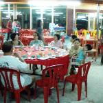 Place comes alive at night as the food is good. Outsiders come here to eat.