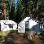 Tents at Merced Lake Camp