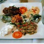 Turkish Meze Appetizer