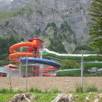 Leukerbad Therme Foto