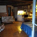 Smallest cabin interior view