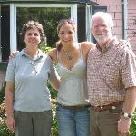 The owners of the Barsen House Inn