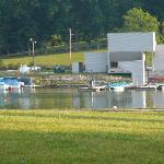 Paddle Boats & Marina area near Duck Island in Warrior's Path State Park