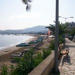 beach across from afroditi hotel