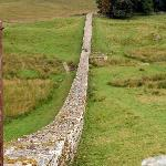 Nearby Hadrian's wall.