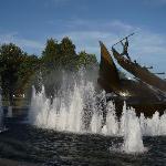 Whale fountain