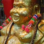 A Golden Laughing Buddha