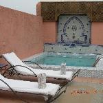 la piscina in terrazza!