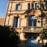 La facade de la maison