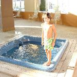 small jacuzzi at pool