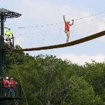 skybridge at WIRED Zip Line