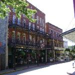 The New Orleans Hotel building dates from 1892