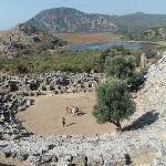 The ampitheatre - Roman history