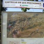 Cartel explicatico, Castrillo de Polvazares, León