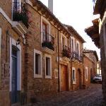 Castrillo de Polvazares, vista de las calles, León