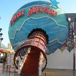 Planet Hollywood Restaurant entrance.
