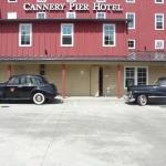 Cannery Pier Hotel.  Really nice place in Astoria, OR right on the Columbia.  Those two cars are
