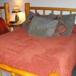The Bedroom..... one of the beds
