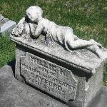 Child's gravestone