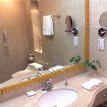 Detalle baño de visitas
