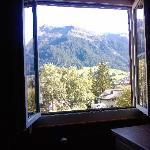 Der Blick aus dem Fenster. Wunderschön.