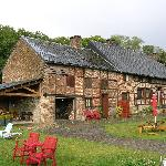 The 'Fermette' and garage for the bikes