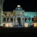 Place de la cathédrale nocturne