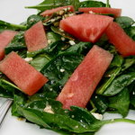 Hermiston watermelon salad