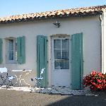 une chambre avec sa terrasse