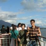 Sakurajima Summer Sightseeing Boat Photo