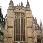 Cathedral in Bath...where the first king of England was crowned