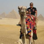 great pyramids in cairo, egypt