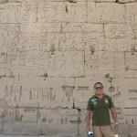 egyptian hieroglyphics in ramses temple, egypt