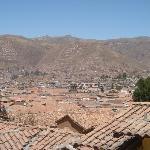 Vista de Cusco desde la habitación