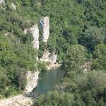 Sabliere river bank - diving areas