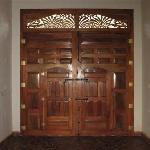Beautiful finished doors